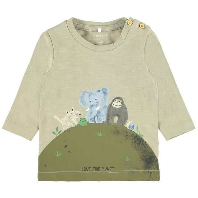 Name it baby T-shirt - Softgrey
