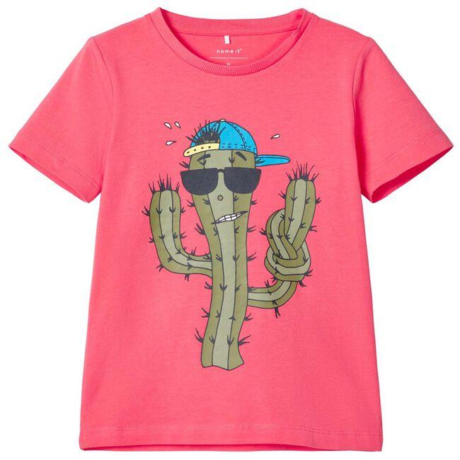 Name it peuter jongens t-shirt - Mid Pink