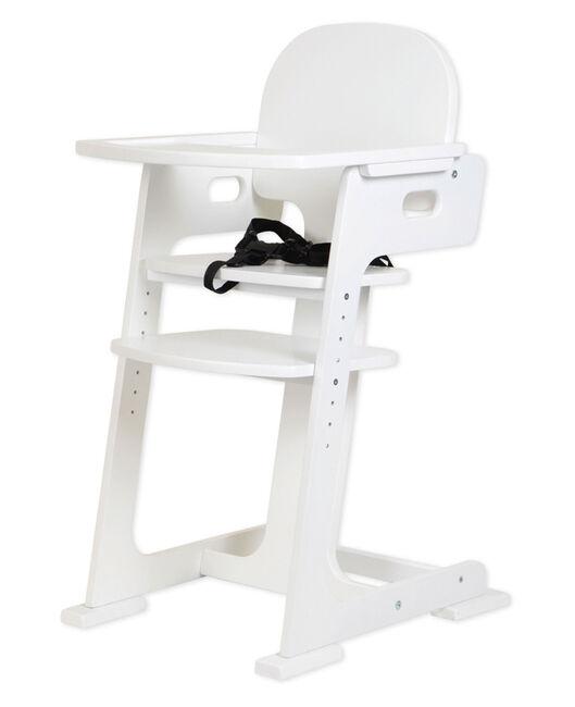 Houten Kinderstoel Wit.Prenatal Meegroeistoel