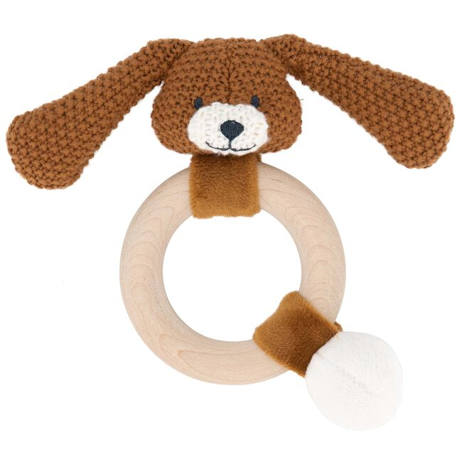 Prénatal rammelaar konijn little knits - Sienna