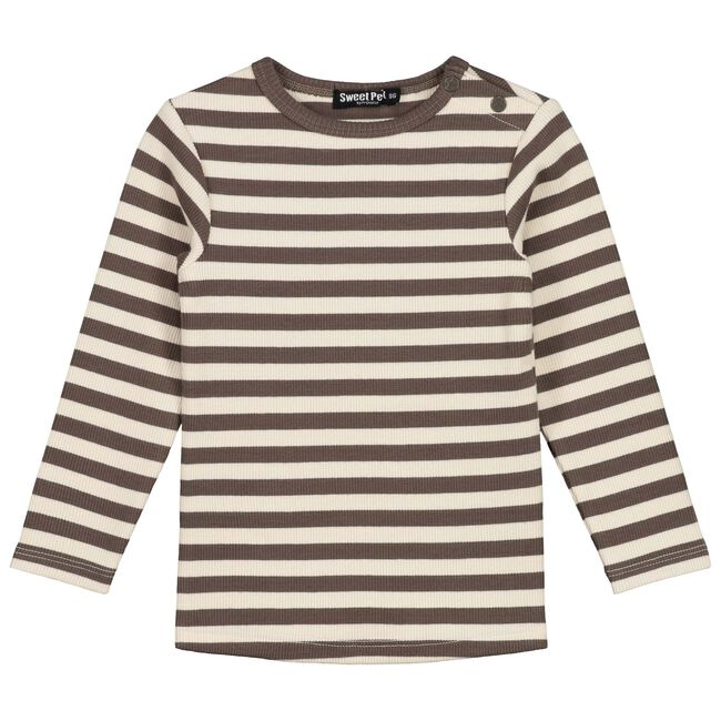 Sweet Petit baby jongens -shirt Senna - Ecru