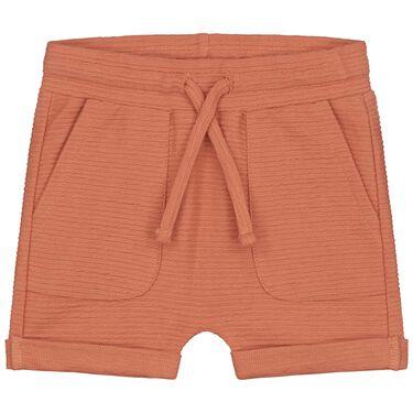 Prénatal baby short - Warm Orange