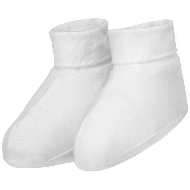 Prénatal newborn unisex slofjes - White
