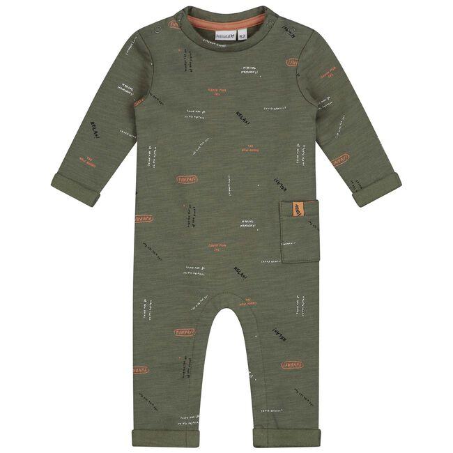 Prénatal baby jongens ééndelig pak - Green Shade