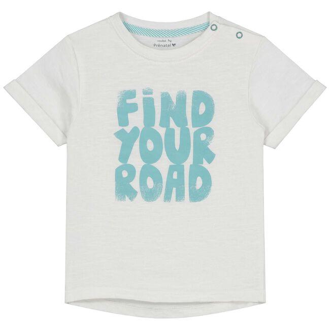 Prenatal baby jongens t-shirt - Onbehandeld/Naturel