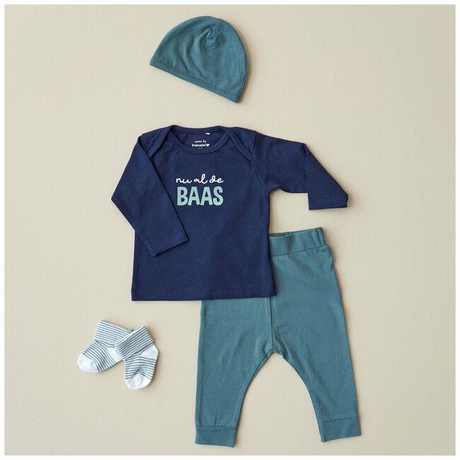 Prenatal newborn unisex mutsje - Aqua