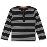 Prénatal baby jongens t-shirt. - Black