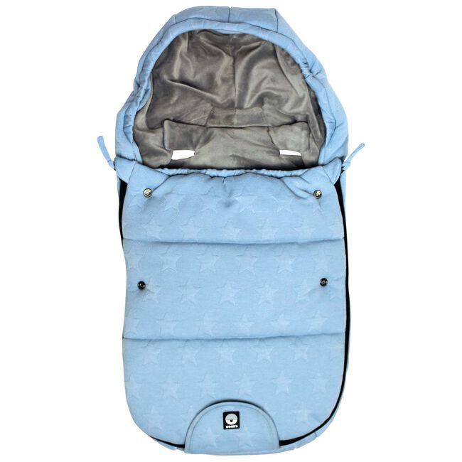 Dooky voetenzak by Prenatal - Knitted Blue Star