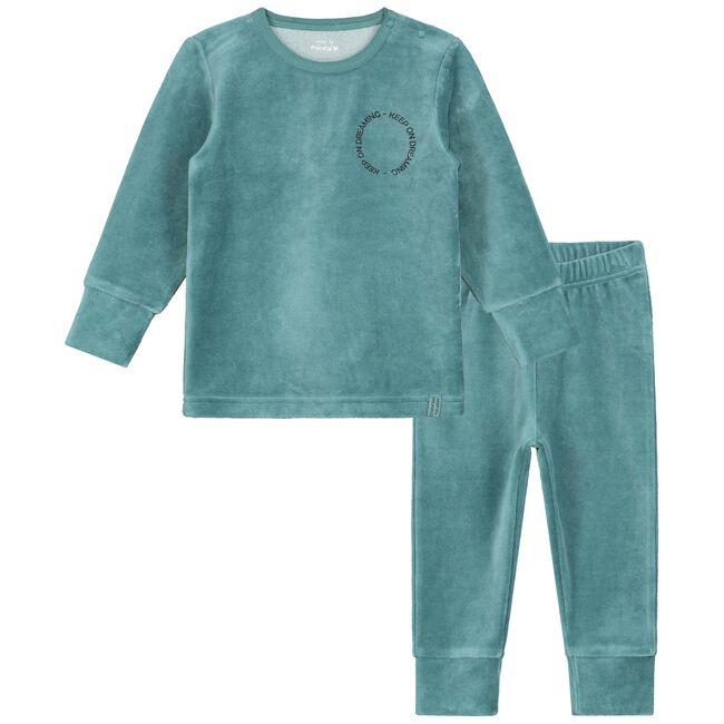 Prénatal jongens peuter pyjama - Dark Aqua