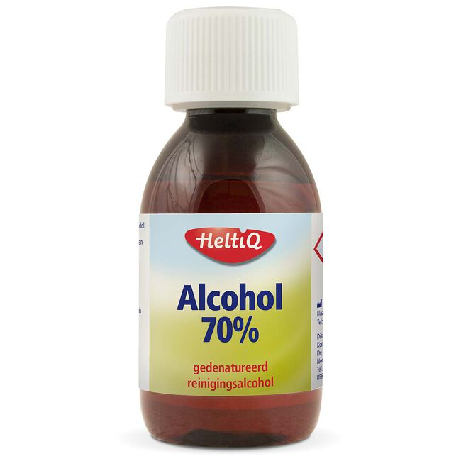 Heltiq alcohol ketonatus 70% 120ml - Geen Kleurcode