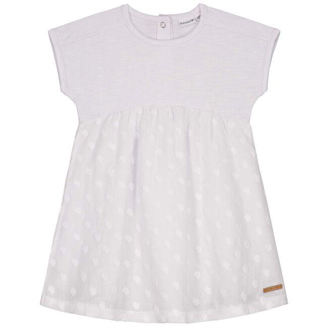 Prenatal baby meisjes jurk - White