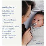 Difrax fopspeen natural 'I love mama' newborn -