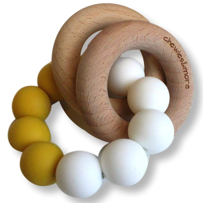 Chewies & more basic rattle rammelaar - Spice Yellow