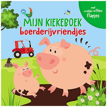 Kiekeboek boerderijvriendjes -