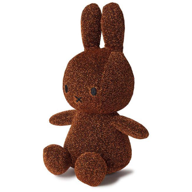 Nijntje knuffel glitter 23cm - Brown