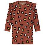 Prénatal peuter meisjes jurk - Red Brown