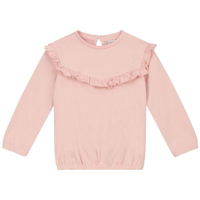 Prenatal peuter meisjes T-shirt - Dark Sugar Pink