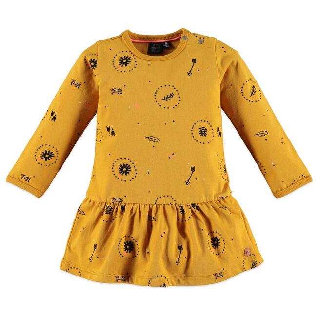 Babyface peuter meisjes jurk - Darkyellow