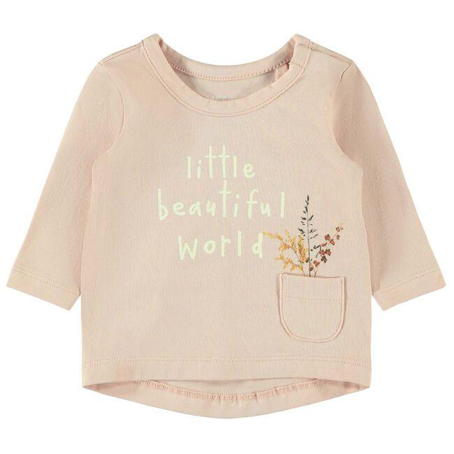 Name it meisjes T-shirt - Mid Pink