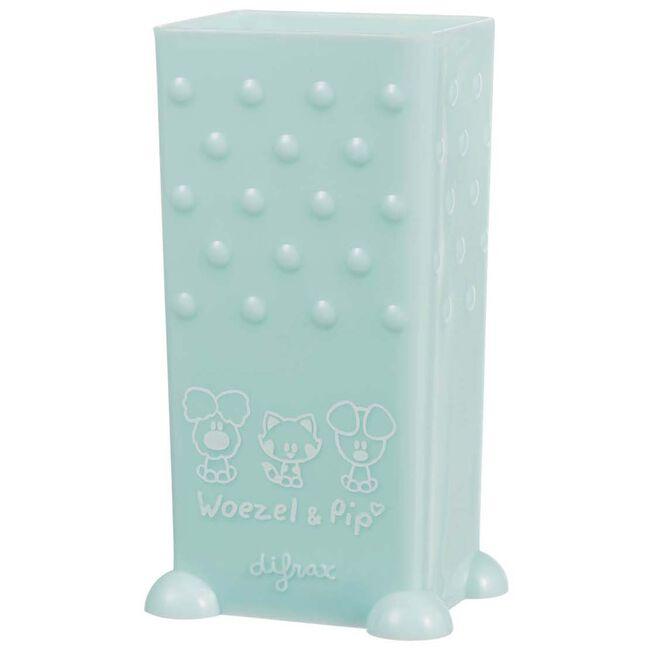 Difrax Woezel en Pip pakjeshouder - Light Mint Green