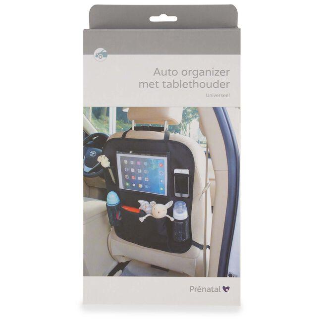 Prenatal auto organizer met tablethouder -