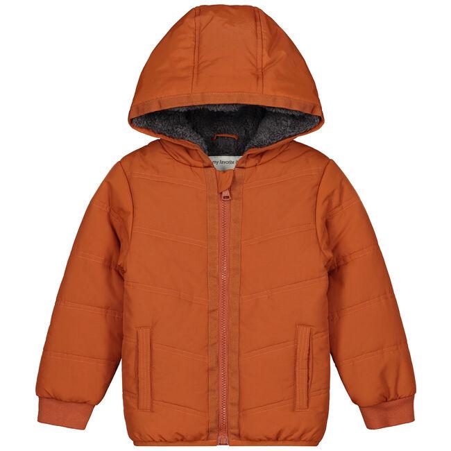 Prénatal peuter jongens jas - Darkorange