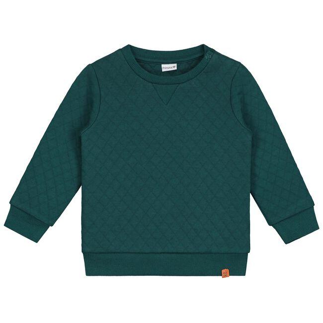 Prénatal baby jongens sweater - Dark Aqua