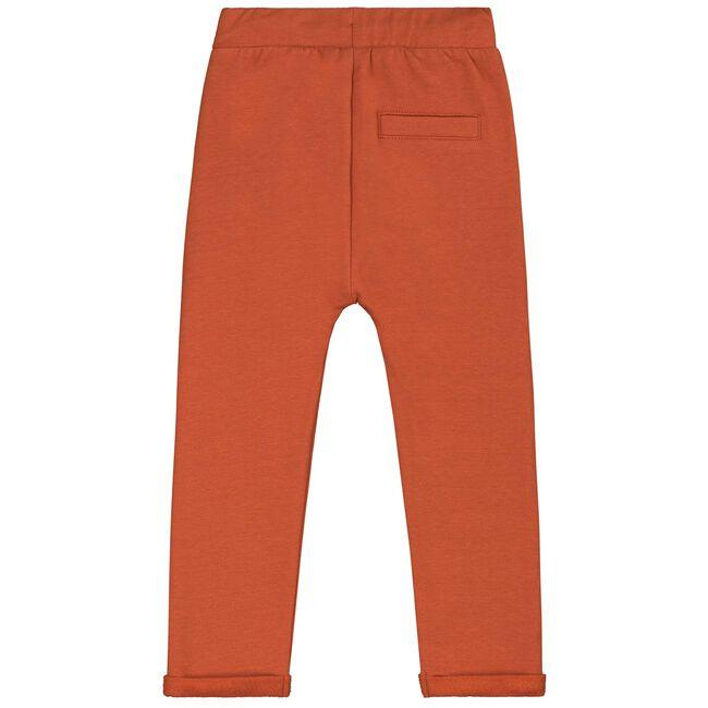 Prénatal baby meisjes broek - Dark Orange Brown