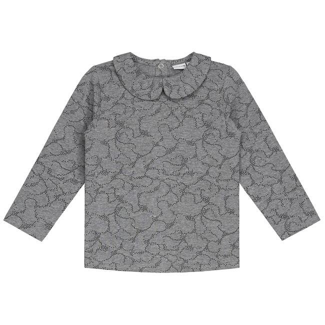 Prenatal peuter meisjes shirt - Dark Stone Grey