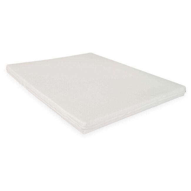 ABZ boxmatras 95x75cm - White (dubbele rits)
