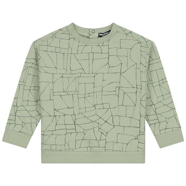 Sweet Petit baby jongens sweater Aiden -