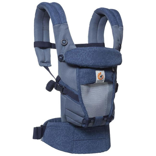 Ergobaby Adapt draagzak Cool Air Mesh - Blue Blooms
