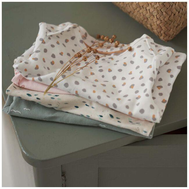 Prenatal newborn unisex shirtje - Ivoor Wit