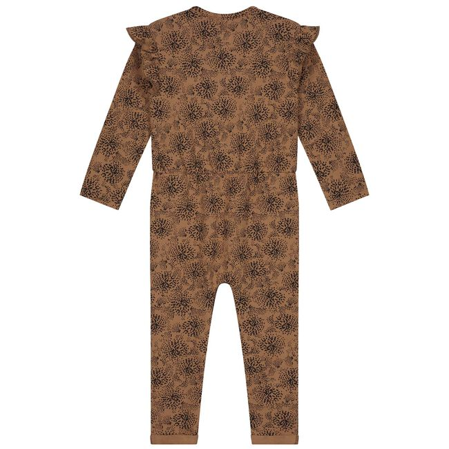 Prénatal baby meisjes jumpsuit - Brown Shade