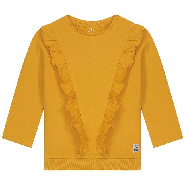 Prénatal baby meisjes sweater - Midyellow