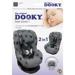 Dooky autostoelhoes groep 1 - Grey Stars