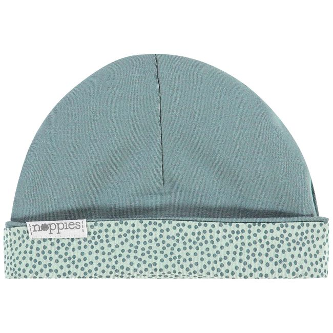 Noppies newborn unisex mutsje - Mintgreen