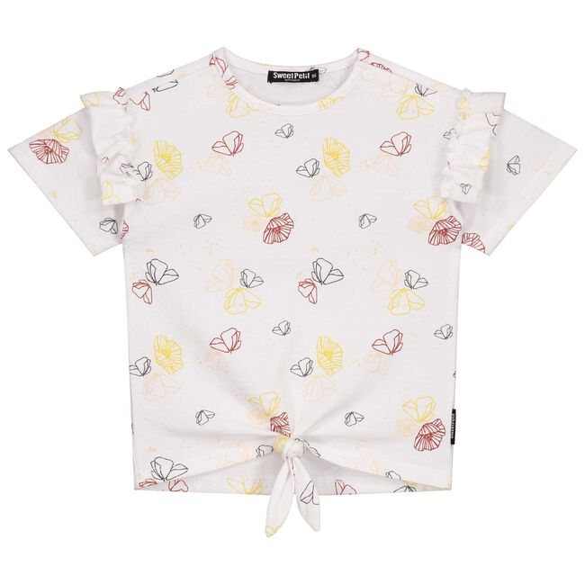 Sweet Petit peuter meisjes shirt - White