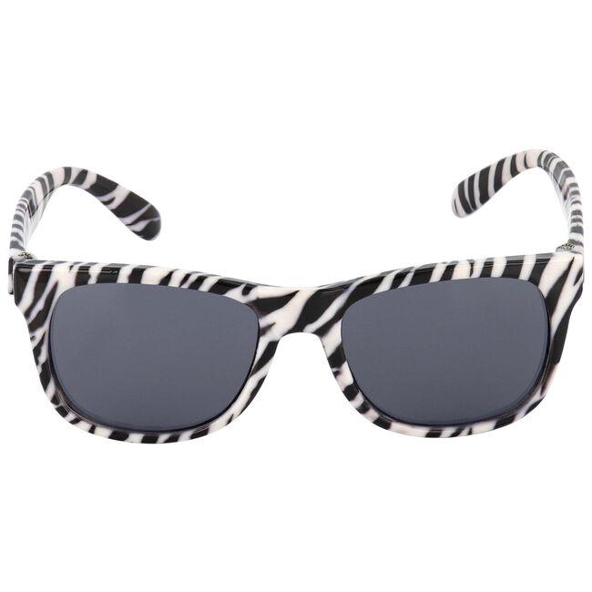 Prenatal meisjes zonnebril zebra - Black