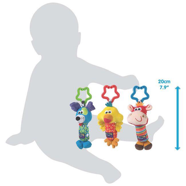 Playgro Tinkle Trio - Multi
