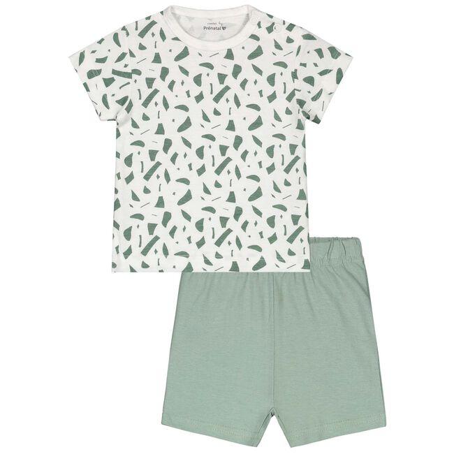 Prénatal baby jongens pyjama - Ivoor Wit