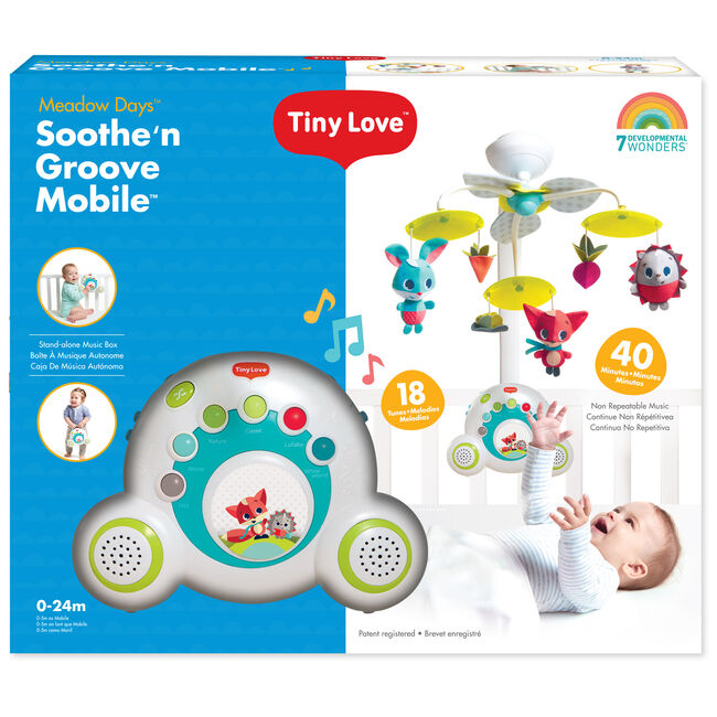 Tiny Love Soothe 'n Groove Mobile - Meadow Days -