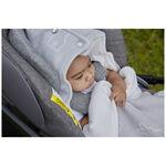 Meyco x Mrs. Keizer voetenzak autostoel -