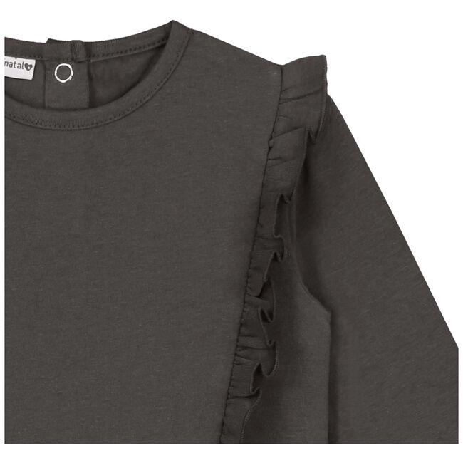 Prenatal meisjes shirt - Stonegrey