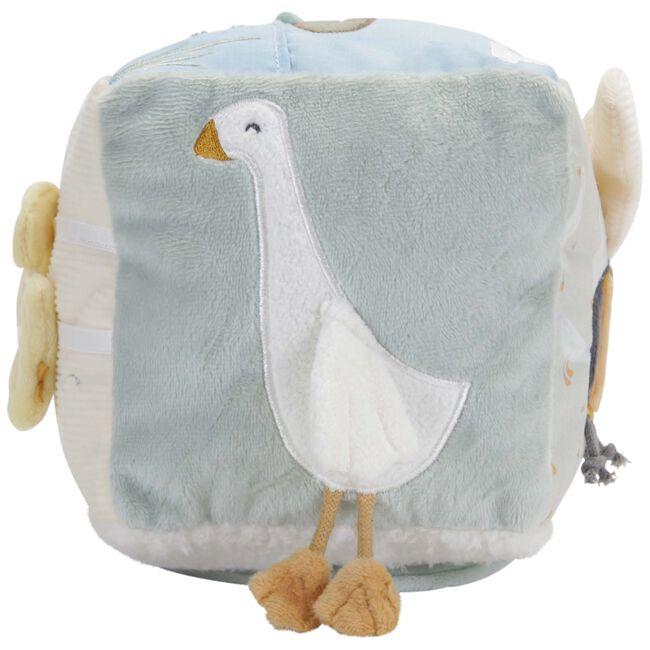 Little Dutch activiteitenkubus Little Goose - White