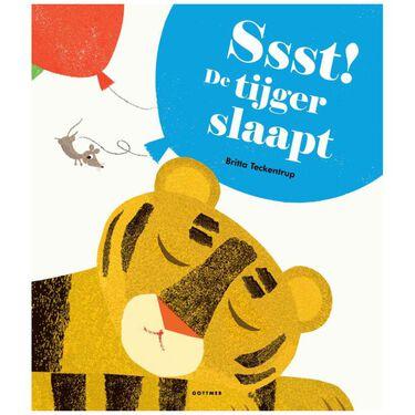 SSST de tijger slaapt kartonboek -