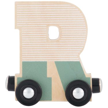 Prénatal houten namentrein letter R -