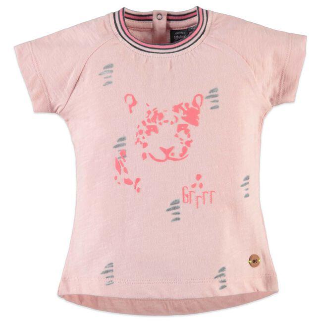 Babyface peuter meisjes t-shirt - Light Fuchsiared