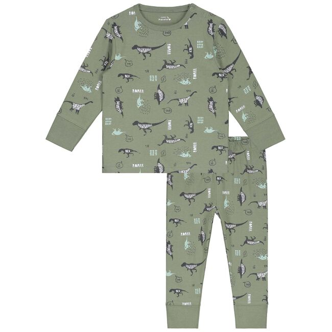 Prénatal peuter jongens pyjama - Midgreen
