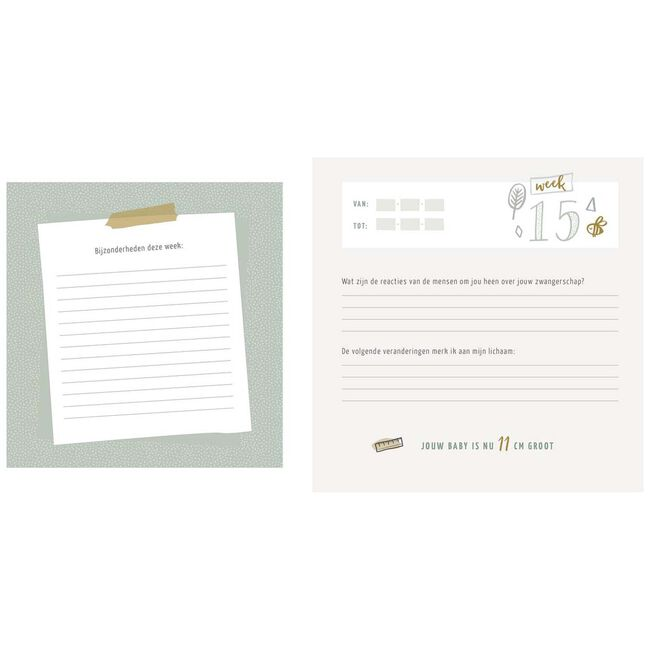Mijn zwangerschapsdagboek - Multi